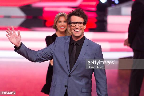 Daniel Hartwich during the 4th show of the tenth season of the television competition 'Let's Dance' on April 7 2017 in Cologne Germany
