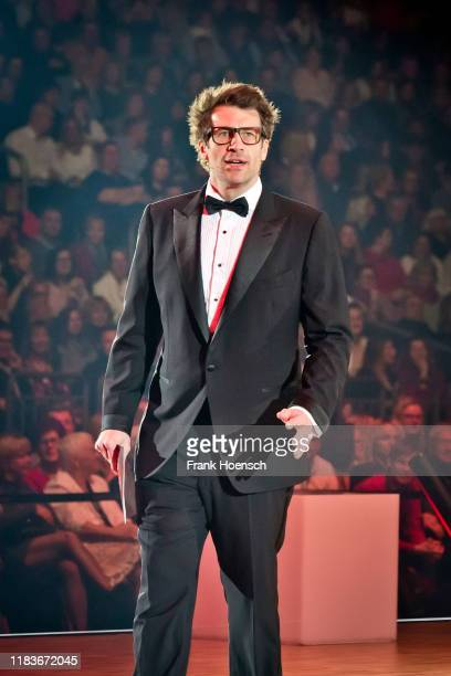 Daniel Hartwich performs live on stage during the Let's Dance Live Tour 2019 at the MercedesBenz Arena on November 20 2019 in Berlin Germany