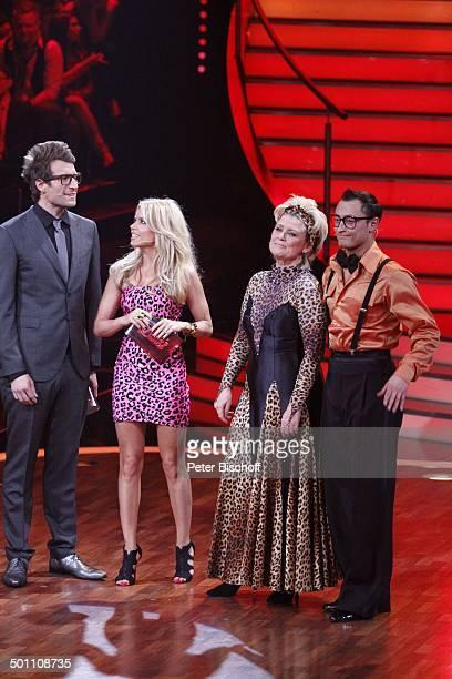 Daniel Hartwich und Sylvie van der Vaart Gitte Haenning mit Tanzpartner Gennady Bondarenko 2 Show der 5 Staffel der RTLTanzshow 'Let's Dance' Köln...