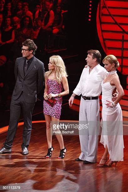 Daniel Hartwich und Sylvie van der Vaart Patrick Lindner mit Tanzpartnerin Isabel Edvardsson 2 Show der 5 Staffel der RTLTanzshow 'Let's Dance' Köln...