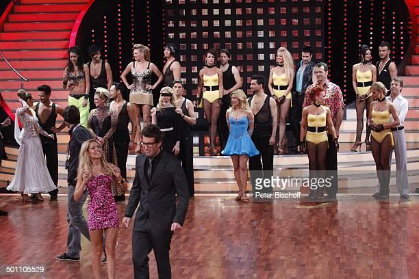 Daniel Hartwich und Sylvie van der Vaart sowie Mandy Capristo mit Tanzpartner Stefano Terrazzino Gitte Haenning mit Tanzpartner Gennady Bondarenko...