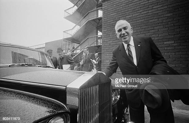 Daniel Haughton, the chairman of Lockheed, UK, 17th February 1971.