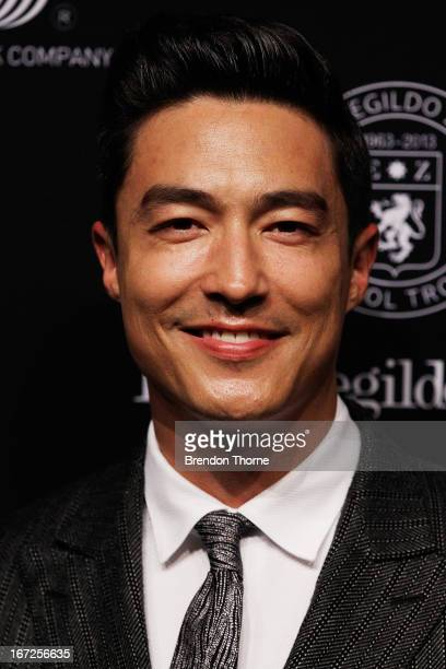 Daniel Henney arrives at the Royal Hall of Industries Moore Park on April 23 2013 in Sydney Australia