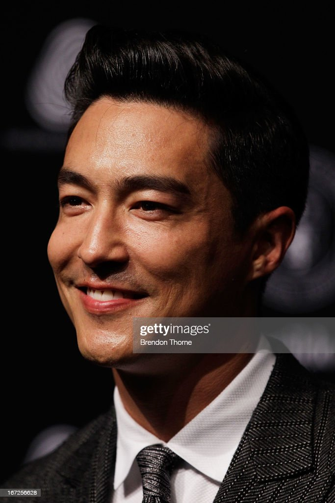 Daniel Henney arrives for the 50th Anniversary Wool Awards at the Royal Hall of Industries, Moore Park on April 23, 2013 in Sydney, Australia.