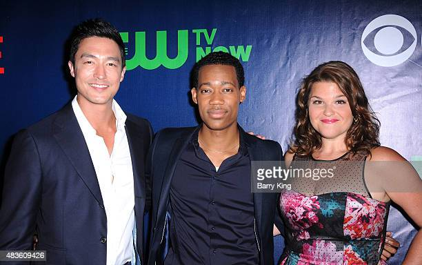 Daniel Henney Tyler James Williams and Annie Funke attend CBS' 2015 Summer TCA Party at Pacific Design Center on August 10 2015 in West Hollywood...