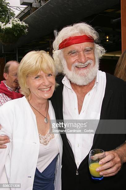 Daniel Herrero and Catherine Ceylac at Roland Garros Village