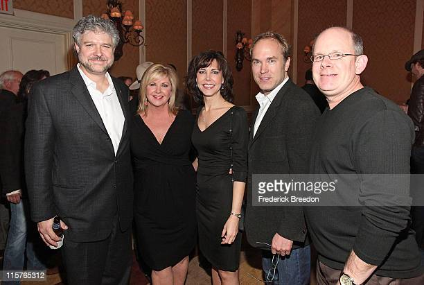 Daniel Hill Susan Stewart Debbie Carroll Ben Fowler and Ron Stave attend the GRAMMY Nominee Party at the Loews Vanderbilt Hotel on January 21 2010 in...