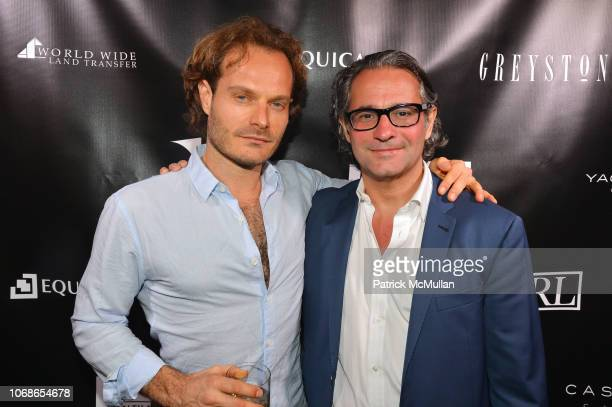Daniel Hilpert and Markus Dochantschi attend Equicap Patron's Dinner For A Demain Art's Platform Issue Zero on December 4 2018 at Delano South Beach...