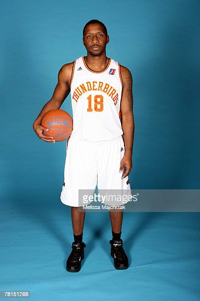 Daniel Horton of the Albuquerque Thunderbirds poses for a portrait during DLeague media day on November 13 2007 at the Open Court in Lehi Utah NOTE...