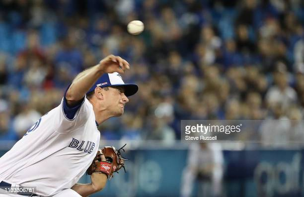 TORONTO ON MARCH 28 Daniel Hudson would give up a two run homer in the top of the tenth inning as the Toronto Blue Jays open the season against the...