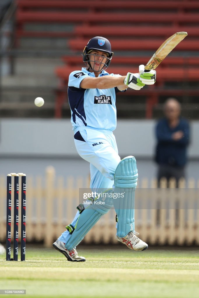 NSW v TAS - JLT One Day Cup
