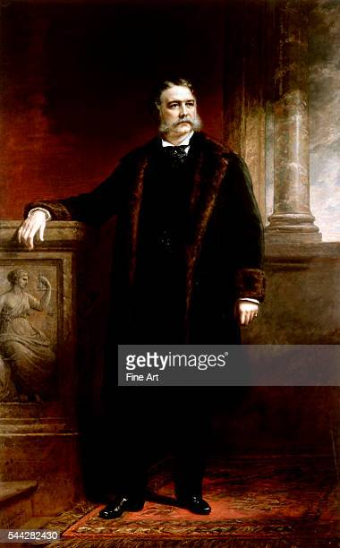 Daniel Huntington Chester Alan Arthur oil on canvas 2419 x 1505 cm The White House Washington DC