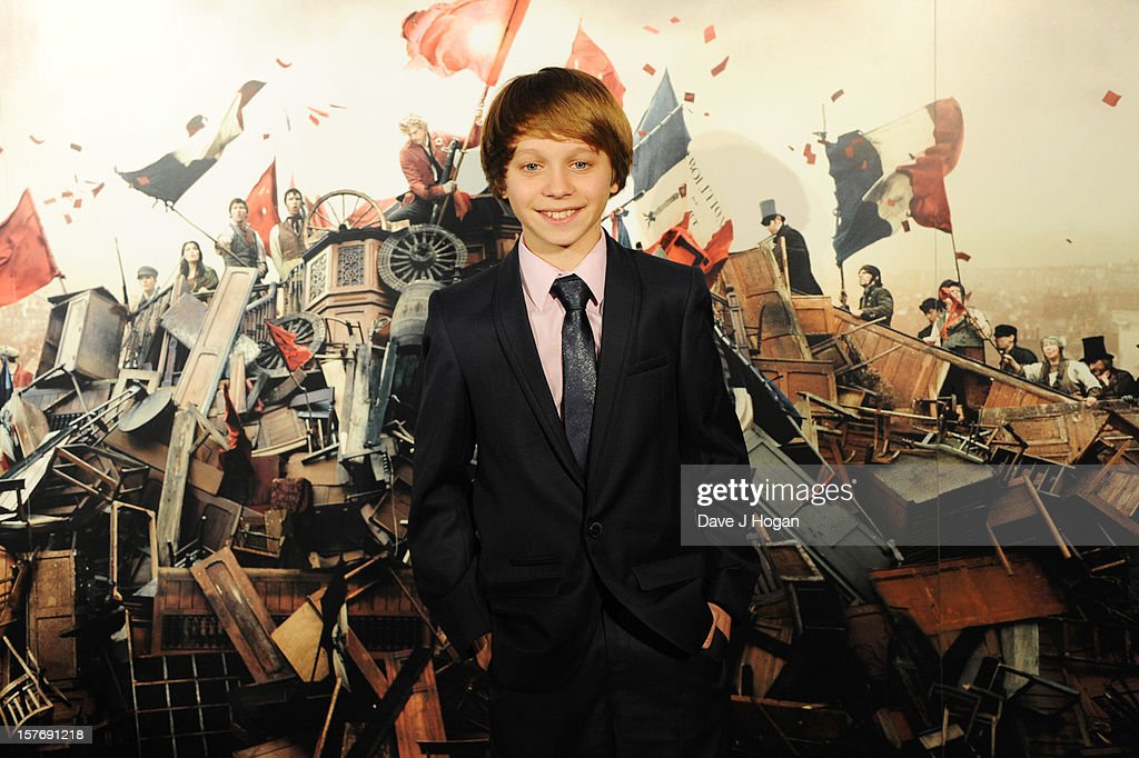 Daniel Huttlestone attends the world premiere after party for Les Miserables at The Odeon Leicester Square on December 5, 2012 in London, England.