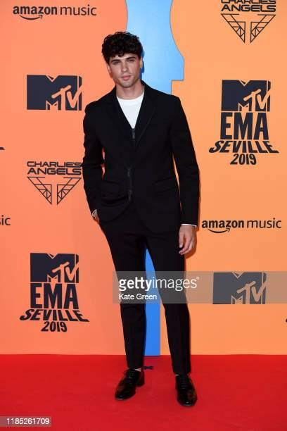 Daniel Illescas attends the MTV EMAs 2019 at FIBES Conference and Exhibition Centre on November 03 2019 in Seville Spain