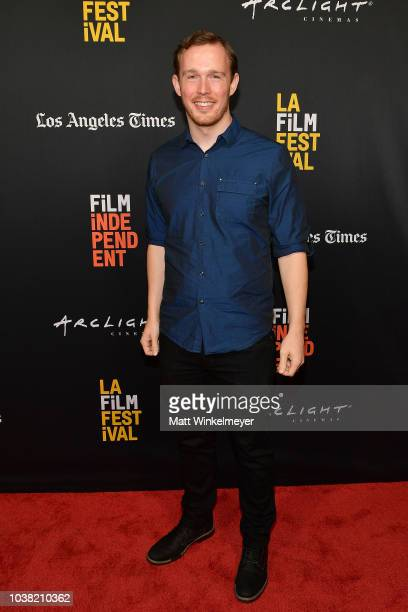 Daniel J Clark attends the 2018 LA Film Festival screening of Behind The Curve at ArcLight Hollywood on September 22 2018 in Hollywood California