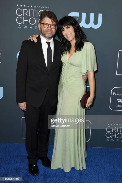 Daniel J O'Connor and Edi Patterson attend the 25th Annual Critics' Choice Awards at Barker Hangar on January 12 2020 in Santa Monica California