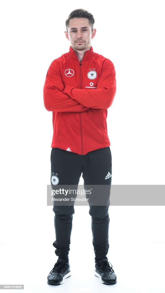 Daniel Jacko poses during the DFB Ladies Marketing Day on June 20, 2017 in Frankfurt am Main, Germany.