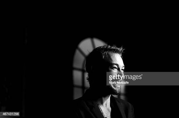 Daniel Johns arrives at the 2015 APRA Music Awards at Carriageworks on March 24 2015 in Sydney Australia