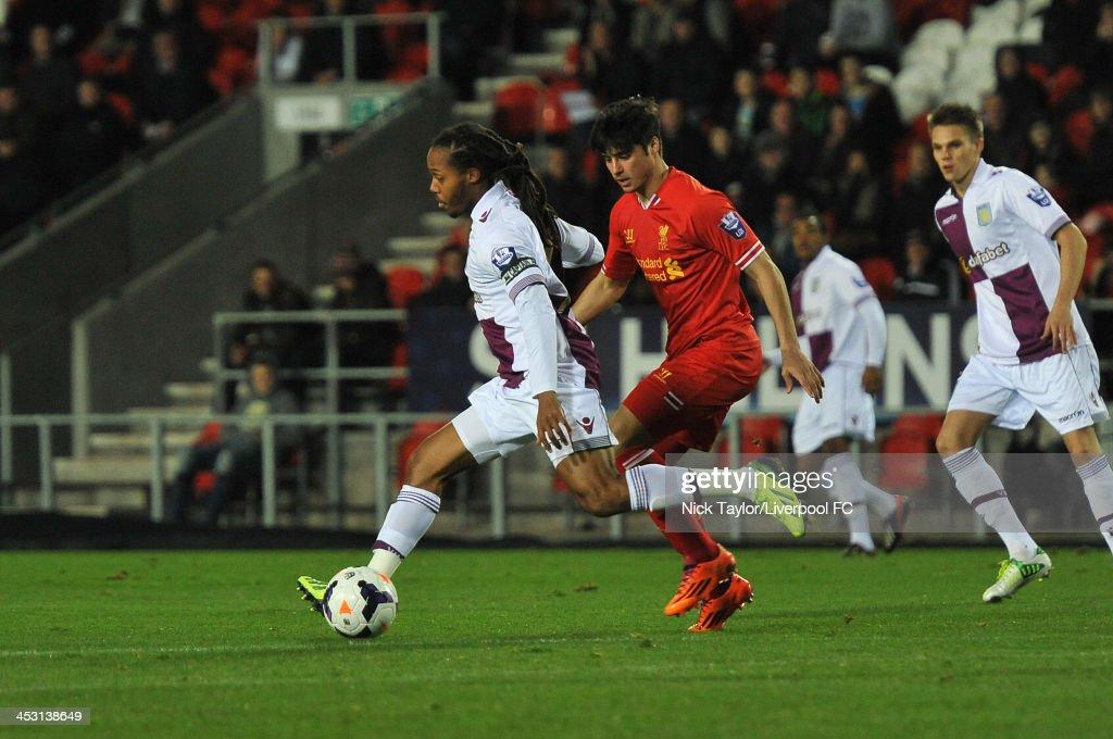 Liverpool U21 v Aston Villa U21 : News Photo
