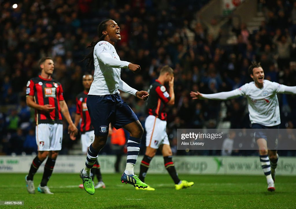 Preston North End v AFC Bournemouth - Capital One Cup Third Round : News Photo