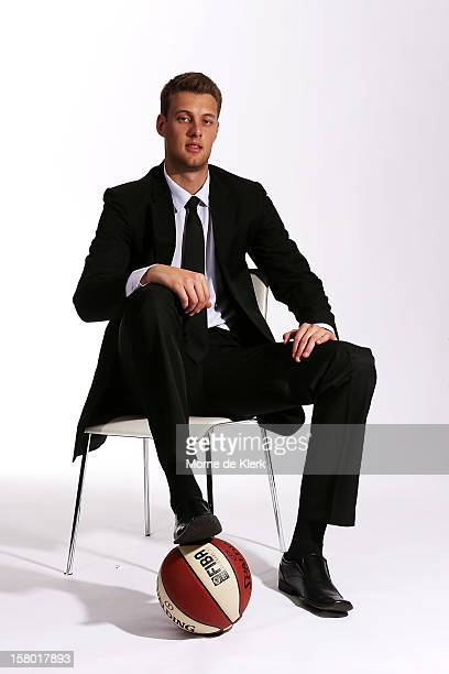 Daniel Johnson poses during an Adelaide 36ers NBL portrait session at the Adelaide Arena on December 7, 2012 in Adelaide, Australia.