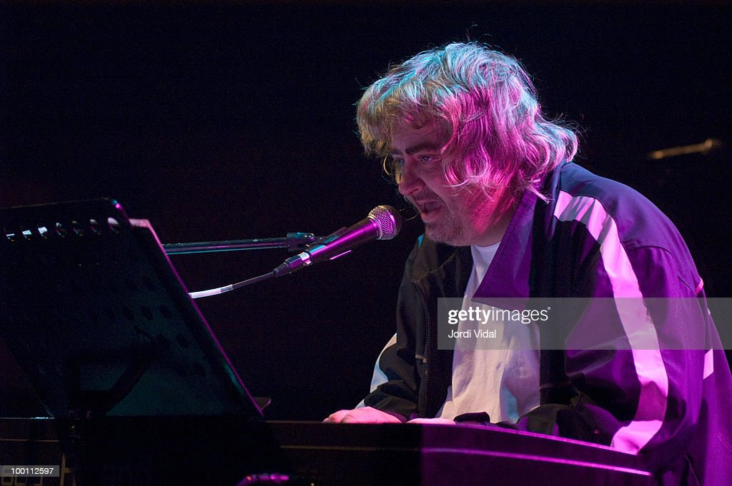 Daniel Johnston performs on stage at Sala Apolo on June 6, 2005 in Barcelona, Spain