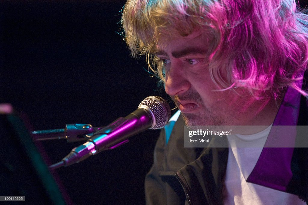 Daniel Johnston Performs In Barcelona