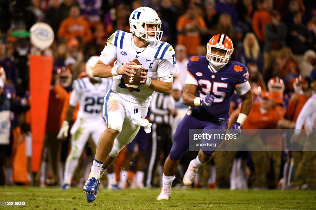 Duke v Clemson : News Photo