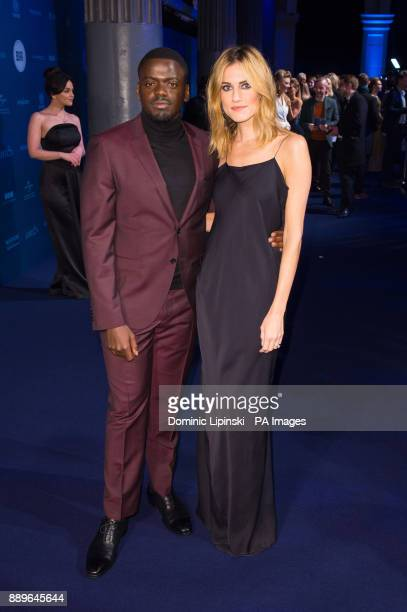 Daniel Kaluuya and Allison Williams arrives for The British Independent Film Awards at Old Billingsgate in London