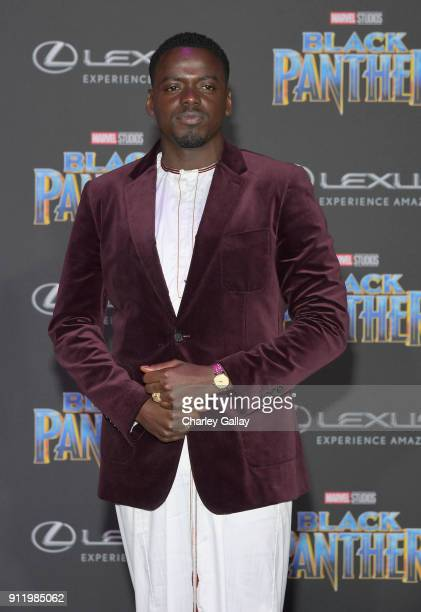 Daniel Kaluuya arrives for the World Premiere of Marvel Studios' Black Panther presented by Lexus at Dolby Theatre in Hollywood on January 29th