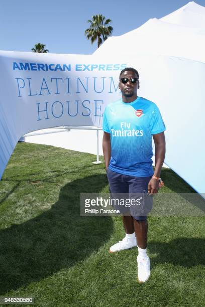 Daniel Kaluuya at the American Express Platinum House at Parker Palm Springs on April 14 2018 in Palm Springs California