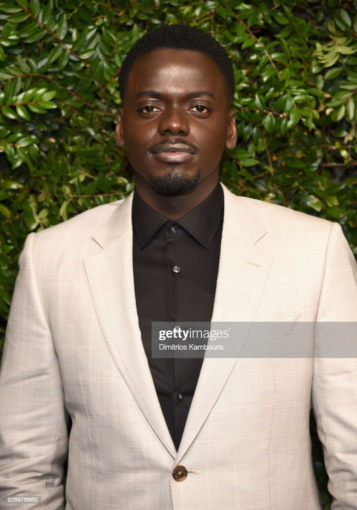 Daniel Kaluuya attends Charles Finch and Chanel Pre-Oscar Awards Dinner at Madeo in Beverly Hills on March 3, 2018 in Beverly Hills, California.