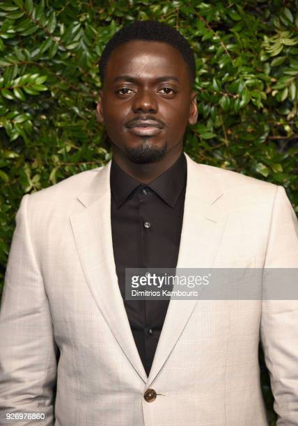 Daniel Kaluuya attends Charles Finch and Chanel PreOscar Awards Dinner at Madeo in Beverly Hills on March 3 2018 in Beverly Hills California