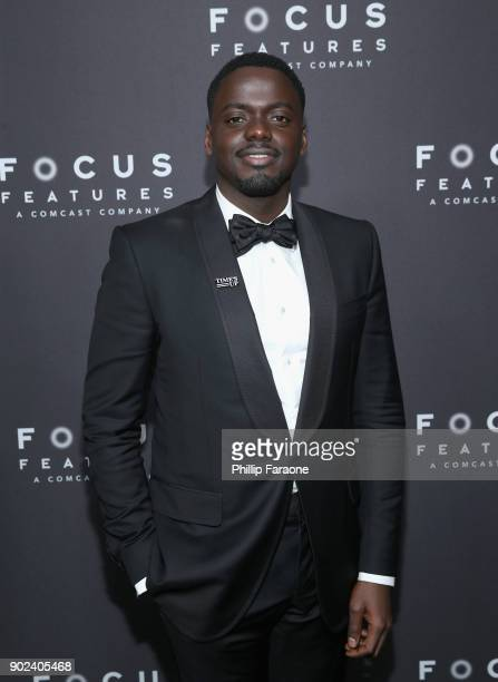 Daniel Kaluuya attends Focus Features Golden Globe Awards After Party on January 7 2018 in Beverly Hills California