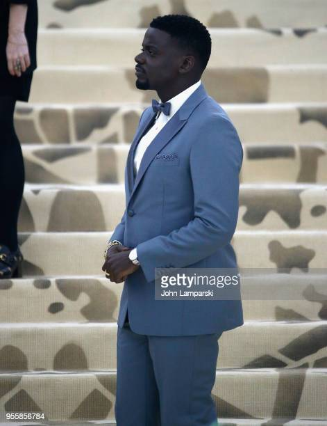 Daniel Kaluuya attends Heavenly Bodies Fashion The Catholic Imagination Costume Institute Gala at The Metropolitan Museum of Art on May 7 2018 in New...