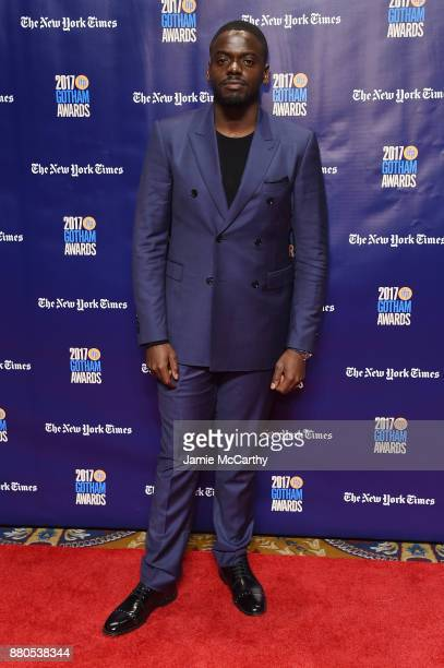Daniel Kaluuya attends the 2017 IFP Gotham Awards at Cipriani Wall Street on November 27 2017 in New York City