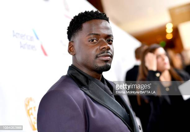Daniel Kaluuya attends the 2018 British Academy Britannia Awards presented by Jaguar Land Rover and American Airlines at The Beverly Hilton Hotel on...