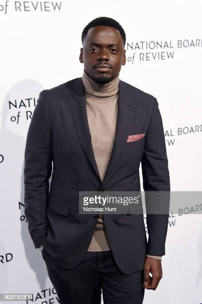 Daniel Kaluuya attends the 2018 National Board Of Review Awards Gala at Cipriani 42nd Street on January 9 2018 in New York City