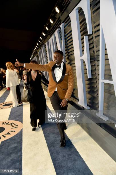 Daniel Kaluuya attends the 2018 Vanity Fair Oscar Party hosted by Radhika Jones at Wallis Annenberg Center for the Performing Arts on March 4 2018 in...