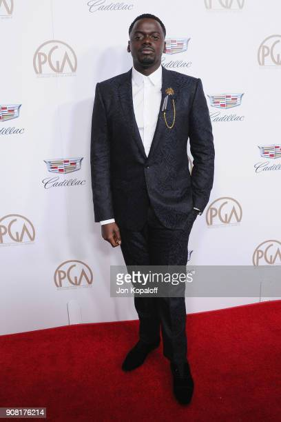 Daniel Kaluuya attends the 29th Annual Producers Guild Awards at The Beverly Hilton Hotel on January 20 2018 in Beverly Hills California