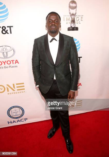 Daniel Kaluuya attends the 49th NAACP Image Awards at Pasadena Civic Auditorium on January 15 2018 in Pasadena California