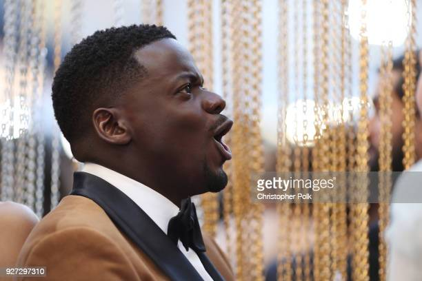 Daniel Kaluuya attends the 90th Annual Academy Awards at Hollywood Highland Center on March 4 2018 in Hollywood California