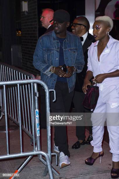 Daniel Kaluuya attends the Balmain after party at Boom Boom Room at the Standard Hotel at on May 7 2018 in New York City