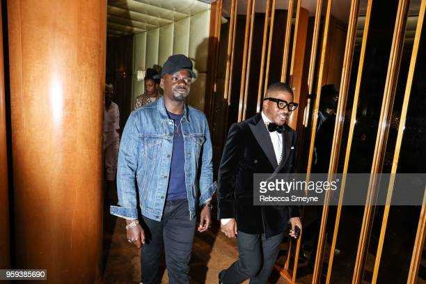 Daniel Kaluuya attends the Boom Boom Afterparty for the Met Gala at the Top of the Standard on May 8 2018 in New York New York