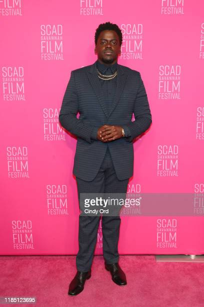 Daniel Kaluuya attends the closing night of the 22nd SCAD Savannah Film Festival on November 02, 2019 at Trustees Theater in Savannah, Georgia.