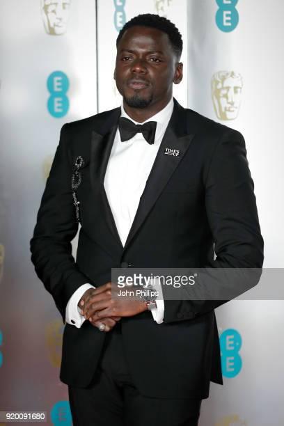 Daniel Kaluuya attends the EE British Academy Film Awards gala dinner held at Grosvenor House on February 18 2018 in London England
