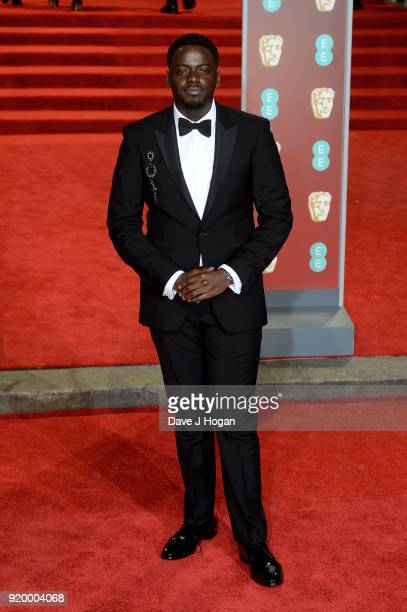 Daniel Kaluuya attends the EE British Academy Film Awards held at Royal Albert Hall on February 18 2018 in London England