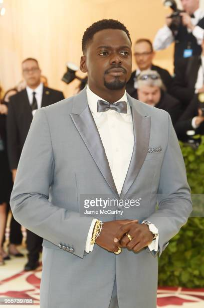 Daniel Kaluuya attends the Heavenly Bodies Fashion The Catholic Imagination Costume Institute Gala at The Metropolitan Museum of Art on May 7 2018 in...