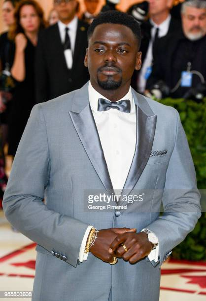 Daniel Kaluuya attends the Heavenly Bodies Fashion The Catholic Imagination Costume Institute Gala at Metropolitan Museum of Art on May 7 2018 in New...