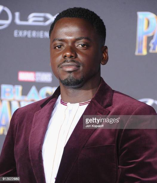 Daniel Kaluuya attends the Los Angeles Premiere 'Black Panther' at Dolby Theatre on January 29 2018 in Hollywood California